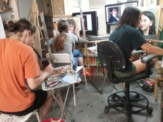 Teen and Adult art class