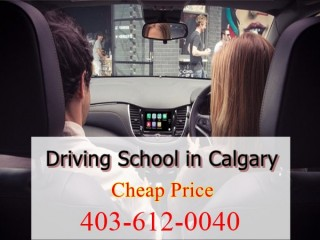 Driving School In Calgary