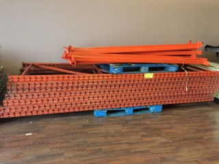 Used Heavy Duty Deep Bulk Storage Rack