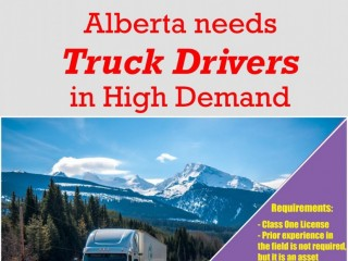 Truck Drivers Needed in Alberta