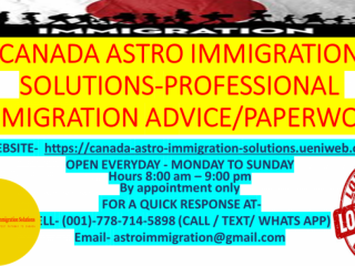 ALL IMMIGRATION NEEDS-SOLUTIONS AVAILABLE CONTACT-778-714-5898