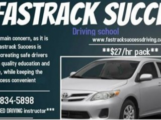 DRIVING LESSONS/DRIVING SCHOOL/DRIVING INSTRUCTOR--RENTAL CAR FOR TEST