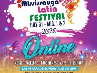 MISSISSAUGA LATIN FESTIVAL 2020 ONLINE!