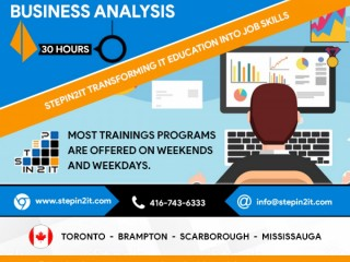 NEW BATCH FOR BUSINESS ANALYST STARTS AUG 8TH, 2020