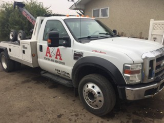 A AND A TOWING AND RECOVERY