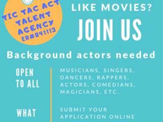 Become an Extra Performer today!
